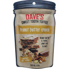 Dave's Sweet Tooth 4 Oz. Peanut Butter Crunch Gourmet Soft Toffee Image 1