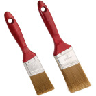 Smart Savers 1-1/2 In. & 2 In. Angled Polyester Paint Brush Set (2-Piece) Image 2