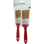 Smart Savers 1-1/2 In. & 2 In. Angled Polyester Paint Brush Set (2-Piece) Image 1